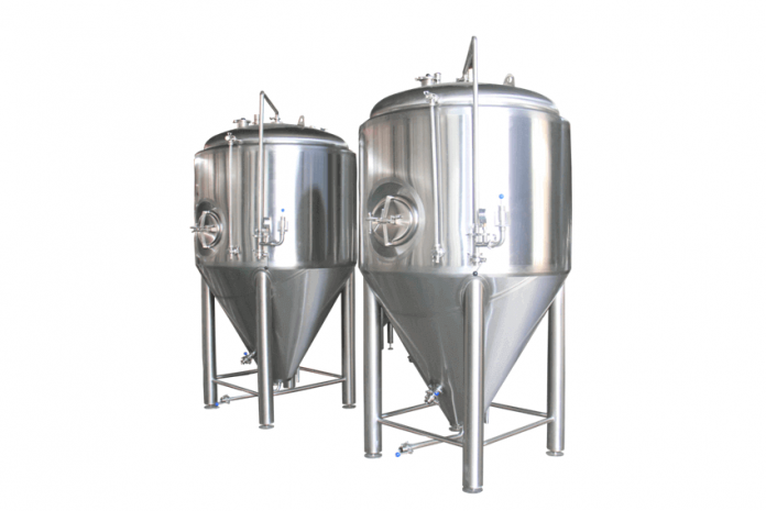 stainless steel beer fermenter