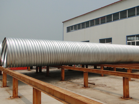 Corrugated Spiral Pipes